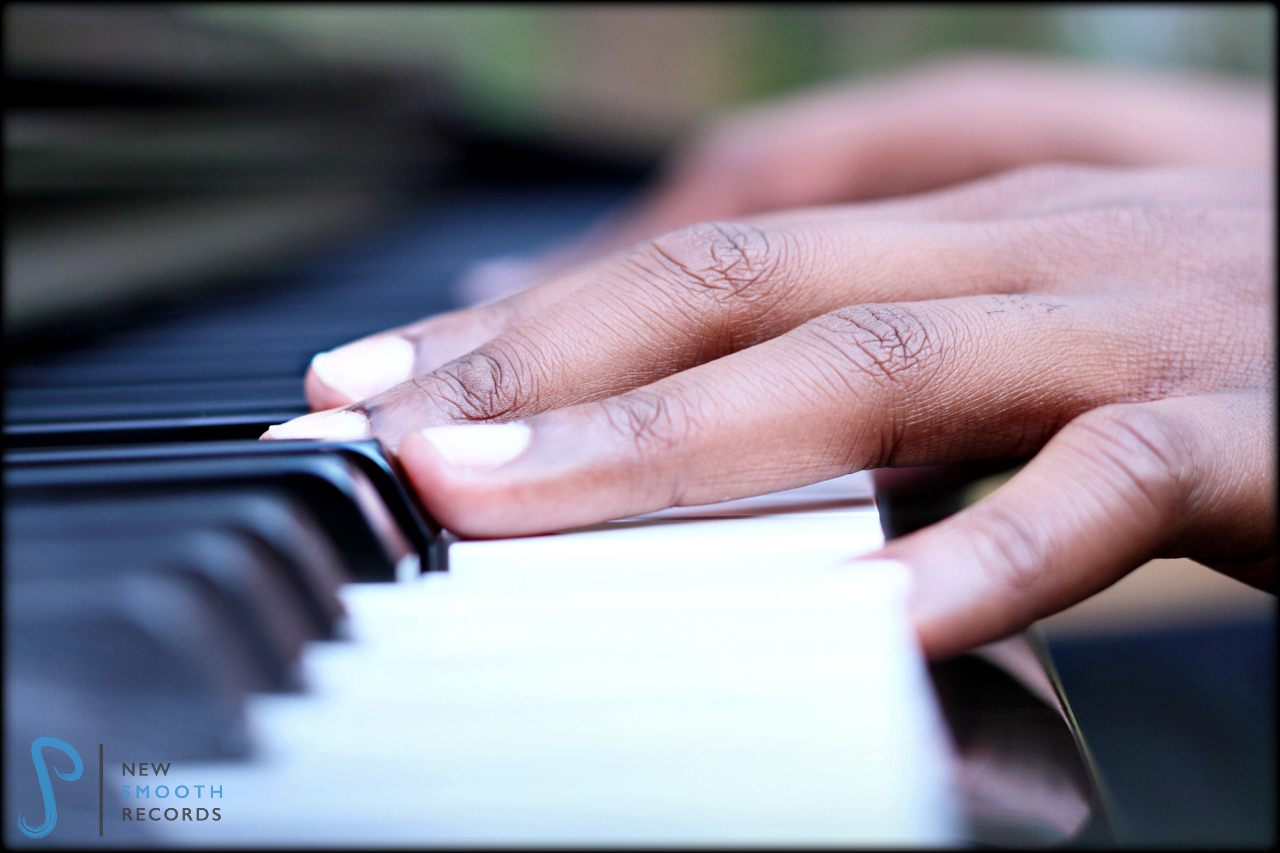 Picture of AJ Smooth's hands, a snapshot of playing piano for years